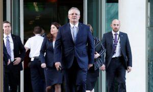 Party Votes in Scott Morrison as Australia's Next Prime Minister