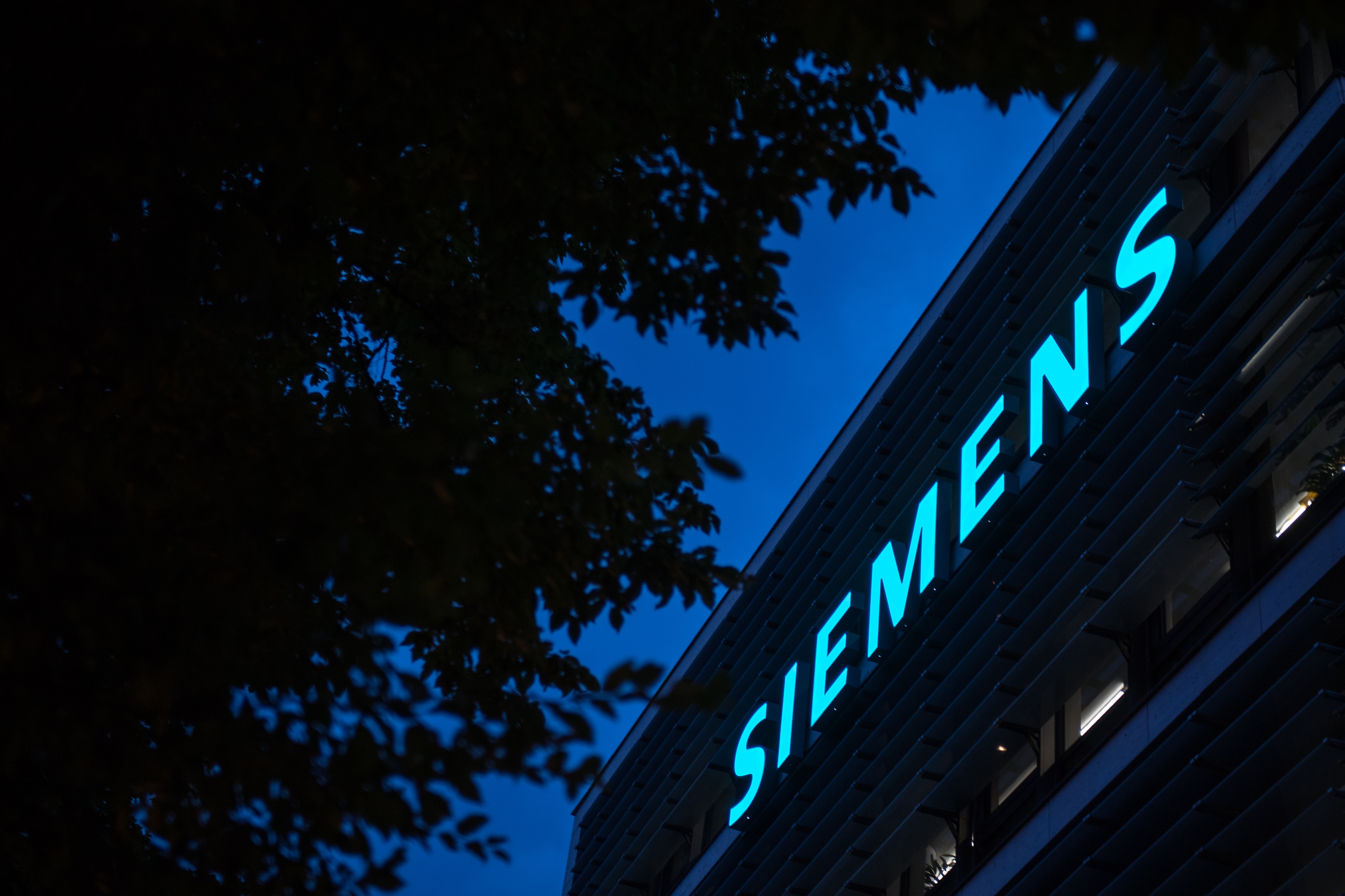 The headquarters of Siemens.