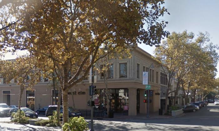 University Avenue, Palo Alto. (Map data @2018 Google).