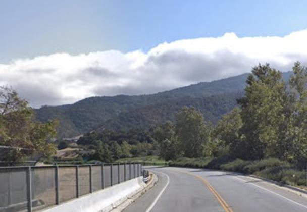 Santa Theresa Boulevard, Gilroy. (Map data @2018 Google).