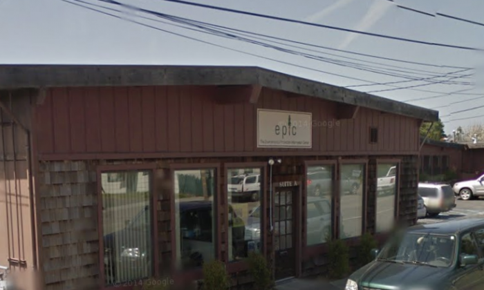 Environmental Protection Information Center in  Arcata in Humboldt County. (Map data @2018 Google).