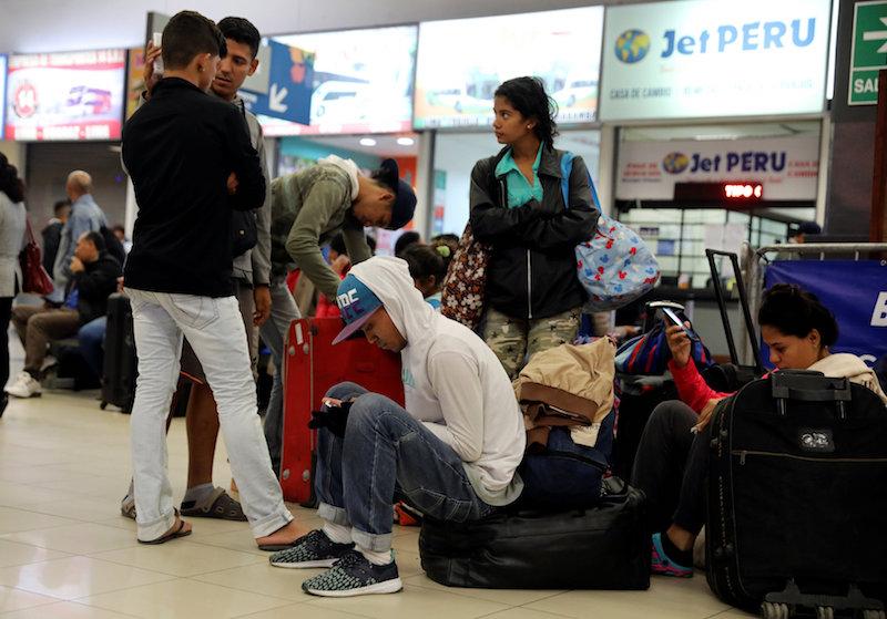 Venezuelan migrants crisis