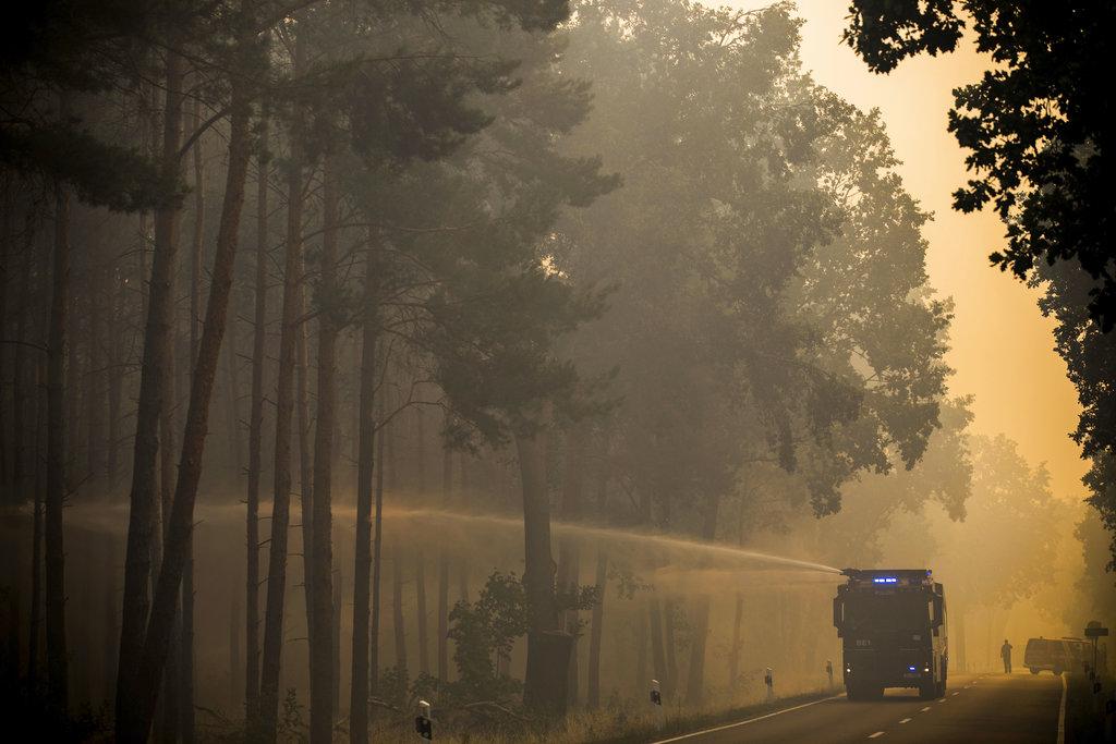 Germany Wildfire