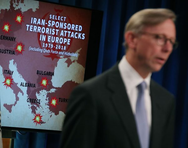 Brian Hook Holds Briefing On Iran