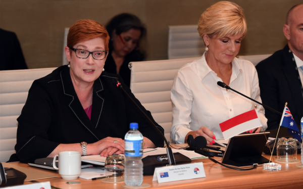 Australia's new Minister of Foreign Affairs Marise Payne