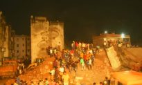 4-Storey Building Collapses in Western India, 10 Feared Trapped