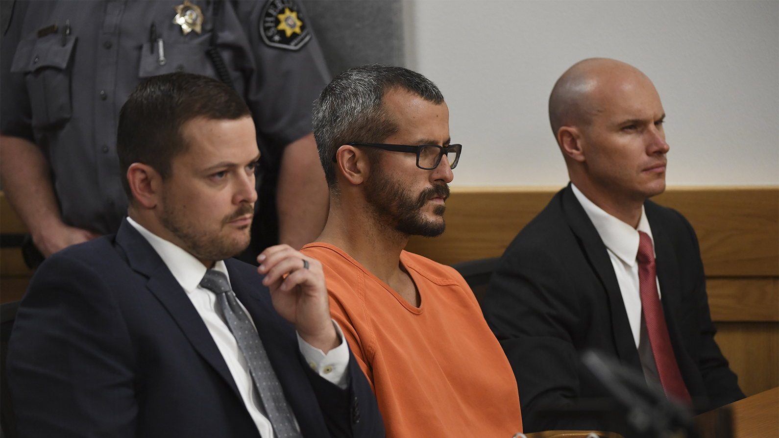 ChristoThis photo combo of images provided by The Colorado Bureau of Investigation shows, from left, Bella Watts, Celeste Watts and Shanann Watts. (The Colorado Bureau of Investigation via AP)pher Watts is in court for his arraignment hearing