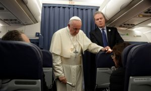 Pope Francis Won't Respond to Claims He Covered-Up Sexual Abuse Allegations