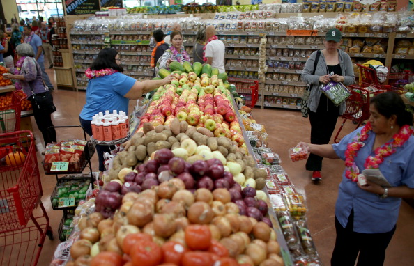Shoppers enjoy the grand opening of a Trader Joe's on Oct. 18, 2013 in Pinecrest, Florida. (Joe Raedle/Getty Images)