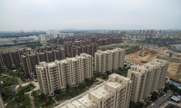 Residential apartments on the outskirts of Beijing on June 13, 2017. (Fred Dufour/AFP/Getty Images)