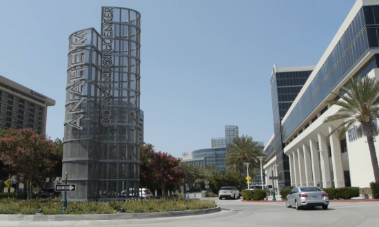 Anaheim Convention Center Holds First Event Since Start of Pandemic