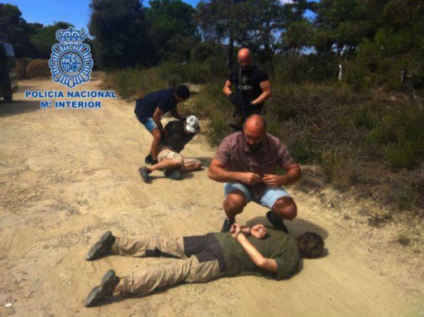 Police in Spain arrest Jos Brech.