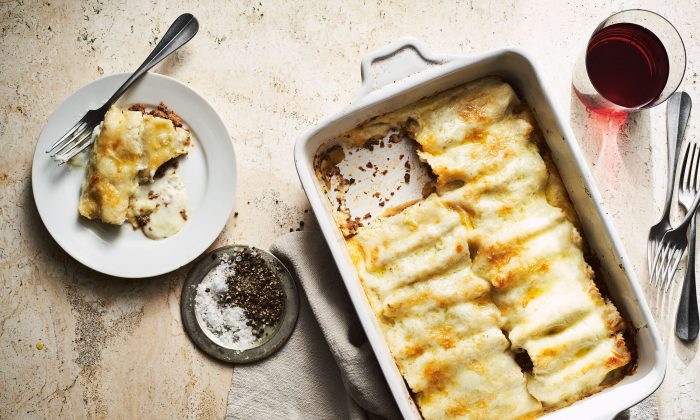 Brisket canelones. (Johnny Autry)