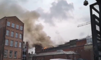 Landmark Belfast Building 'At Risk of Collapse' After Fire Rips Through Roof