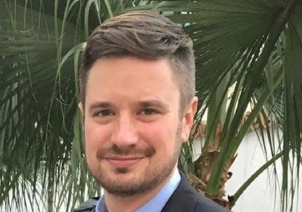 Michael Sharp, an American investigator for the United Nations in Goma, Democratic Republic of the Congo, Feb. 7, 2017. (John E. Sharp/Reuters)
