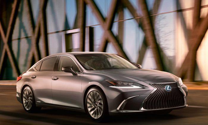 2019 Lexus ES 350. (Courtesy of Lexus)