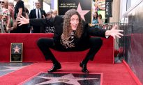 """King of Parodies """"Weird Al"""" Yankovic Presented With Hollywood Star"""