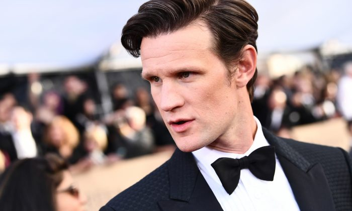 Matt Smith attends the 24th Screen Actors Guild Awards at The Shrine Auditorium in Los Angeles on January 21, 2018. (Emma McIntyre/Getty Images)