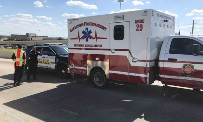 Ambulance. (San Antonio Police Department)