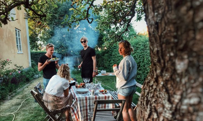 A group of friends gather for a reunion in Linkoping, Sweden. Young people are increasingly unhappy in Nordic countries, according to a study released on Aug. 22, 2018. (Johanna Dahlberg/Unsplash)