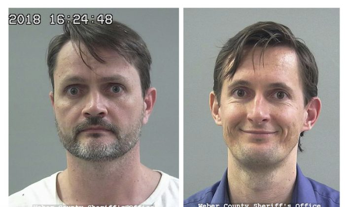 Undated file photos show Jacob Kingston, left, and Isaiah Kingston. Two Salt Lake City biodiesel executives linked to a polygamous group will stay in jail after prosecutors argued they could flee to Turkey if released ahead of trial in an alleged $511 million tax credit scheme. (Weber County Sheriff's Office via AP/File)