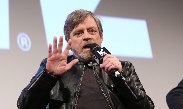 """Actor Mark Hamill attends the Star Wars: The Last Jedi """"The Director and The Jedi"""" SXSW Documentary Premiere at Paramount Theatre on March 12, 2018 in Austin, Texas.  (Jesse Grant/Getty Images for Disney)"""