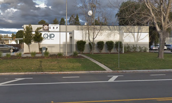 California Highway Patrol. 2020 Junction Ave, San Jose, CA 95131. (Map data @2018 Google).