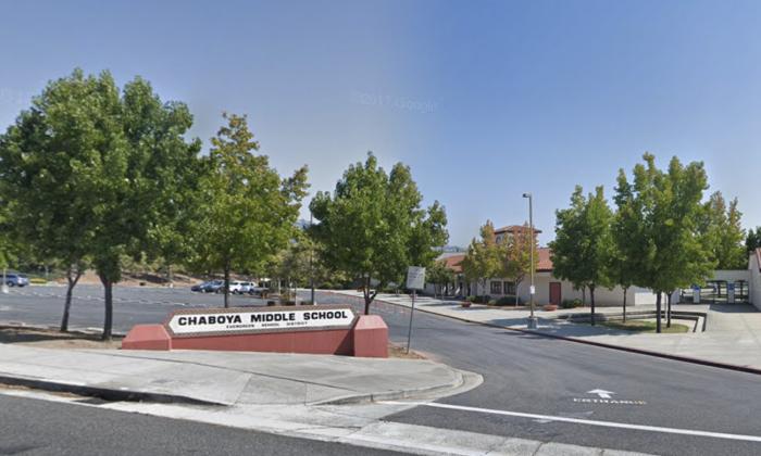 Chaboya Elementary School. 3276 Cortona Dr, San Jose, CA 95135. (Map data @2018 Google).