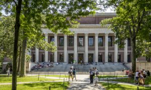 Asian-Americans Suing Harvard Over Admissions Policies Win DOJ Support