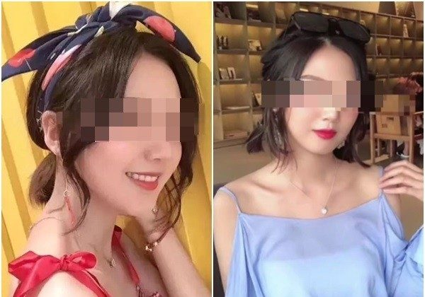 Social media photos showing the late Ms. Zhao, 20, who was raped and murdered by her rideshare driver in Wenzhou, eastern China, on Aug. 24. (Sina Weibo)