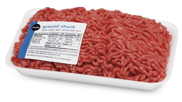 Some ground beef at Publix is being recalled.