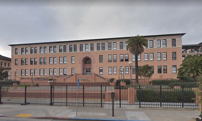 Balboa High School in San Francisco where a gun was reportedly discharged. (Map data @2018 Google).