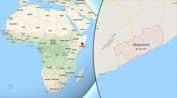 Car bomb attack in Mogadishu, Somalia