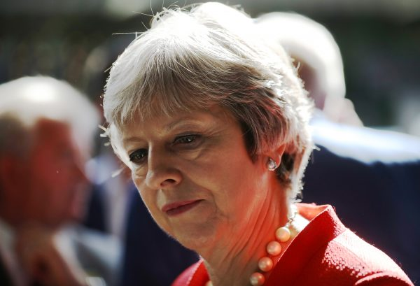 Theresa May visits the Royal Welsh Show