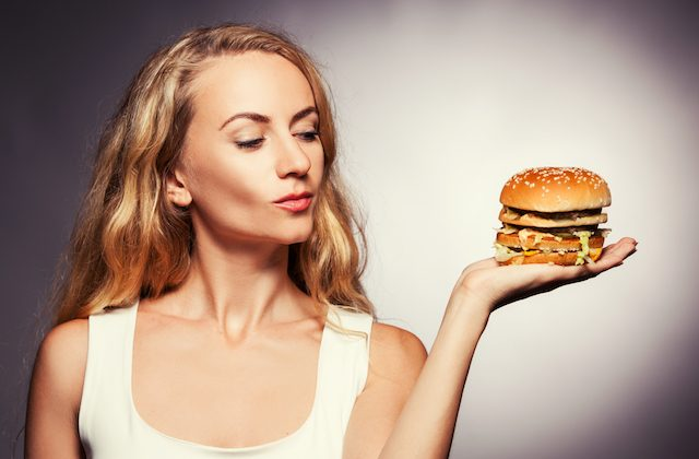 Obesity isn't the only problem caused by junk food. A new study finds that even slim women face health risks from high-calorie, low nutrient food.(Shutterstock)