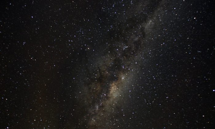 A view of the Milky Way from an area of Puyehue National Park near Osorno City, Chile, May 8, 2008. (Reuters/Ivan Alvarado).
