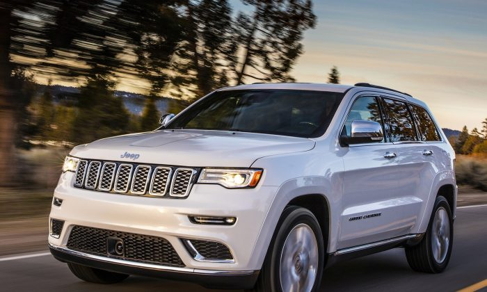 2018 Jeep Grand Cherokee Summit. (Courtesy of Jeep)