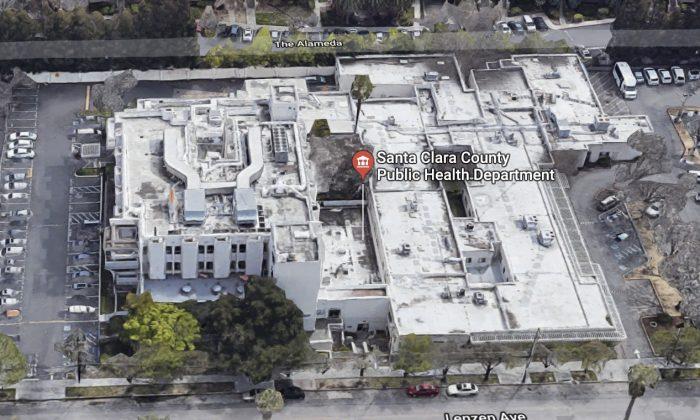 Santa Clara County Public Health Department. 976 Lenzen Ave, San Jose, CA 95126. (Map data @2018 Google)