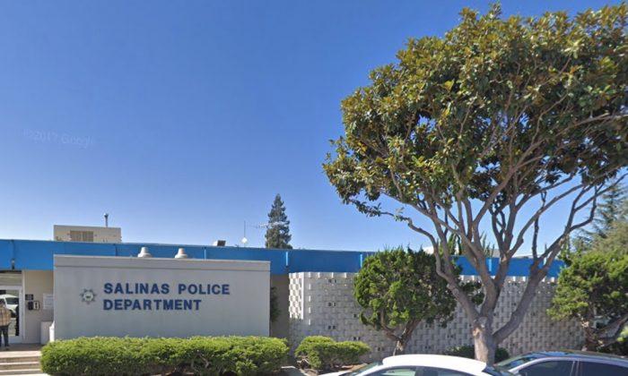 Salinas Police Department. 222 Lincoln Ave, Salinas, CA 93901. (Map data @2018 Google)