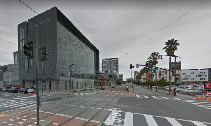 San Francisco Police Department. 1251 3rd St, San Francisco, CA 94158. (Map data @2018 Google)