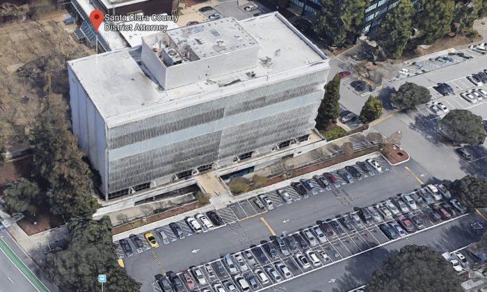 Santa Clara County District Attorney. West Wing, 70 W Hedding St, San Jose, CA 95110. (Map data @2018 Google)