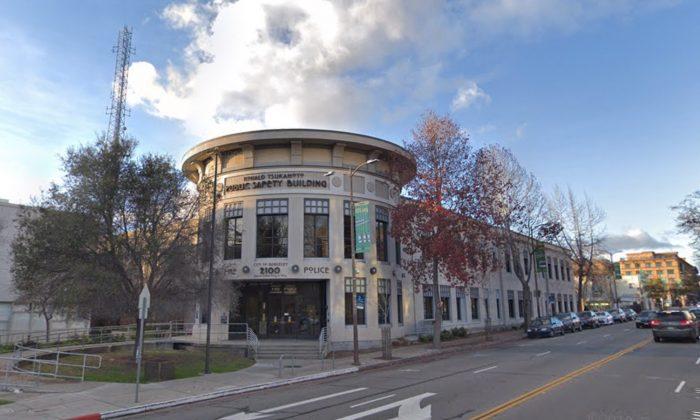 Berkeley Police Department. 2100 Martin Luther King Jr Way, Berkeley, CA 94704. (Map data @2018 Google)