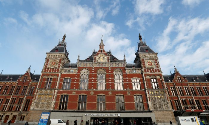 The central train station in Amsterdam, Netherlands, where a jihadist knifeman attacked two American tourists on Aug. 31, 2018. (Yves Herman/Reuters/File Photo)