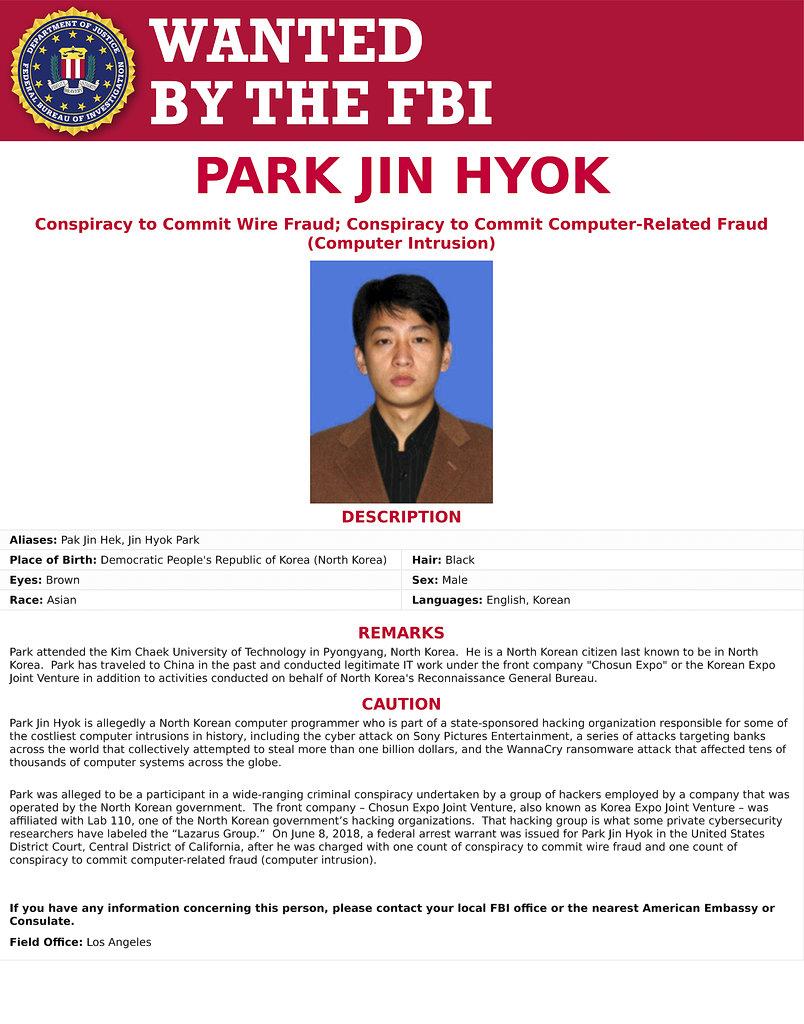 Park Jin Hyok