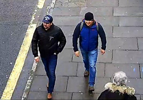 Novichok poisoning suspects Boshirov and Petrov