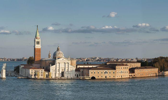 """The Giorgio Cini Foundation on San Giorgio Maggiore in Venice will host """"Homo Faber"""" from Sept. 14 to 30. (Giorgio Cini Foundation)"""
