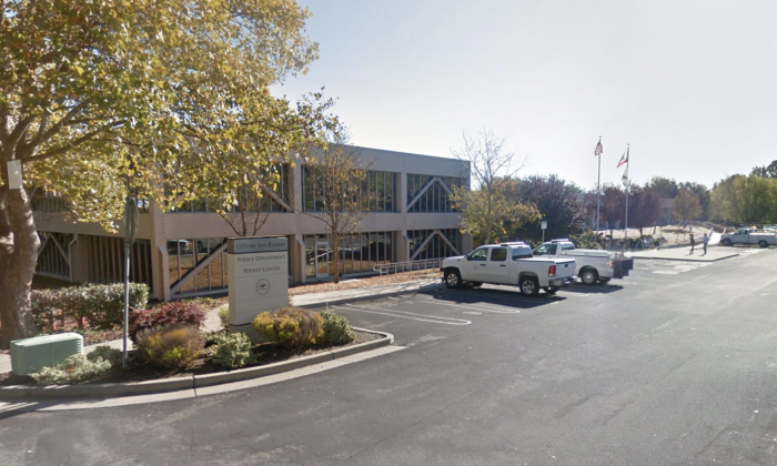 San Ramon Police Department. 2401 Crow Canyon Rd, San Ramon, CA 94583. (Map data @2018 Google)
