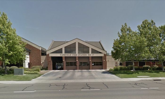 Fairfield Fire Department. 1200 Kentucky St, Fairfield, CA 94533. (Map data @2018 Google)