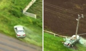 Video: High-Speed Police Chase in Oklahoma Ends in Crash