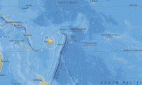7.8-Magnitude Earthquake Hits Near Fiji